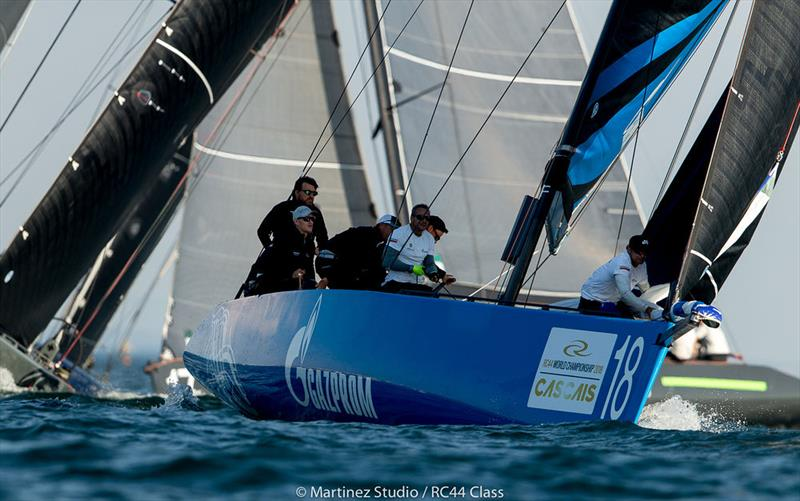 Bronenosec's performance today was a surprising having missed 2018's first two event - 2018 RC44 World Championship - photo © Pedro Martinez / Martinez Studio