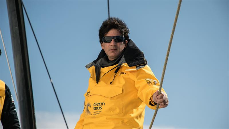 Paulo Mirpuri and his Mirpuri Foundation are taking over John Bassadone's campaign for this event - photo © Rich Edwards / Volvo Ocean Race