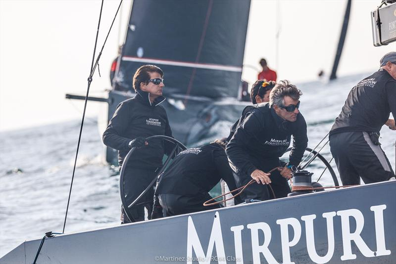 It was the first day of RC44 racing for helmsman Paulo Mirpuri on day 1 of the RC44 Cascais Cup - photo © Nico Martinez / www.MartinezStudio.es