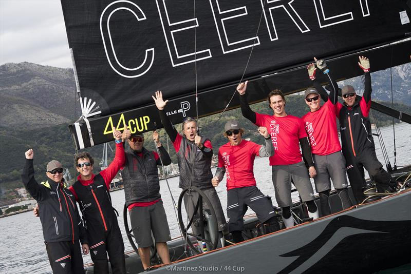 Igor Lah and his winning crew on Team CEEREF - 2019 44Cup Porto Montenegro - photo © MartinezStudio.es