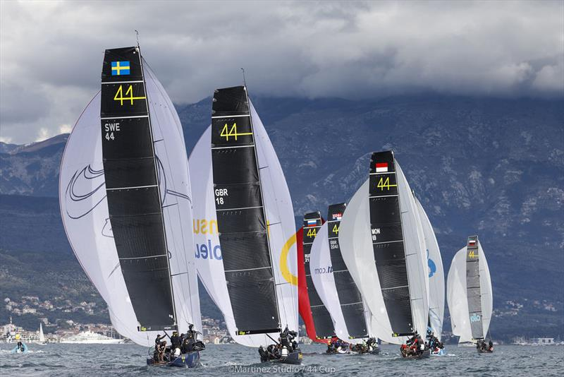 Conditions held out for three races to be held on the final day of 44Cup Porto Montenegro  photo copyright MartinezStudio.es taken at Porto Montenegro Yacht Club and featuring the RC44 class