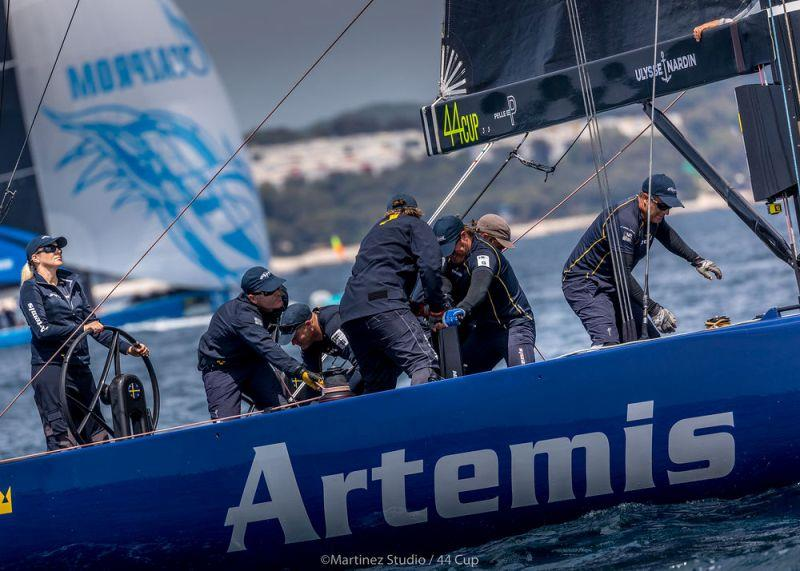 Artemis Racing did well today winning today's second race - Day 2, Adris 44Cup Rovinj - photo © MartinezStudio.es