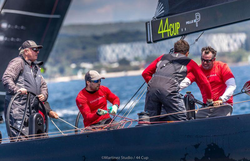 Nico Poons and new tactician John Kostecki coaxed Charisma to a black and white 1-9-1 scoreline today - Day 2, Adris 44Cup Rovinj - photo © MartinezStudio.es