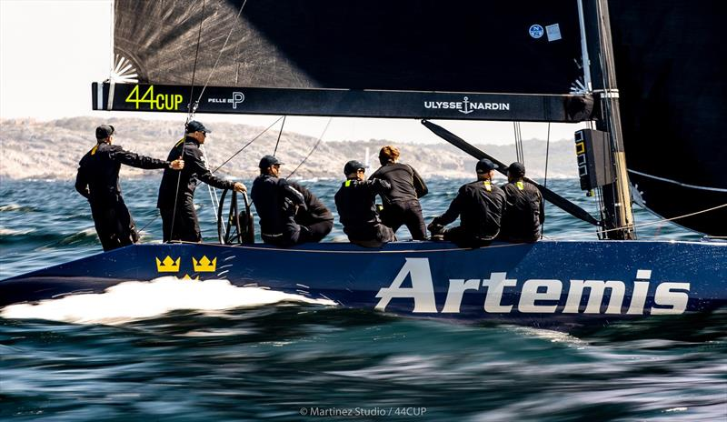 The local heroes - Torbjörn Törnqvist's Artemis Racing - 44Cup Marstrand World Championship 2019 - photo © Pedro Martinez / Martinez Studio