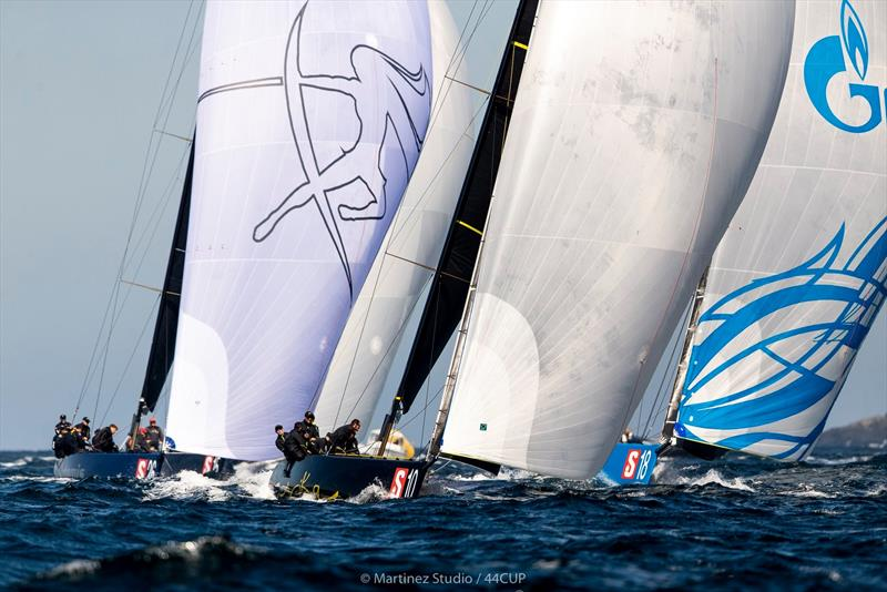 Day 1 - 44Cup Marstrand World Championship 2019 photo copyright Pedro Martinez / Martinez Studio taken at  and featuring the RC44 class