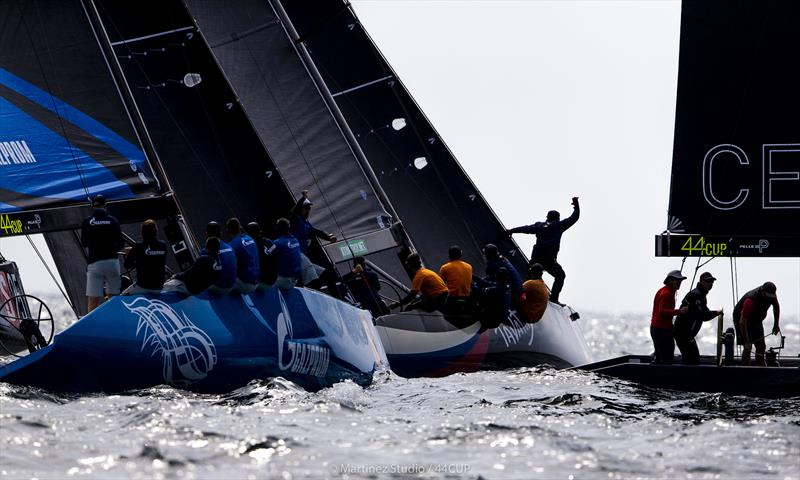 Devastating - Team CEEREF over early at the start of today's second race - 44Cup World Championship 2019 - photo © Pedro Martinez / Martinez Studio