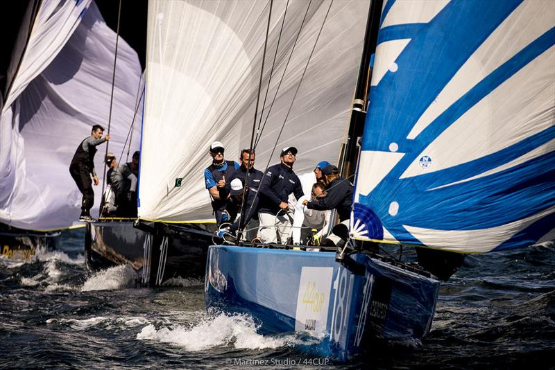 Bronenosec Sailing Team scored two of their best results of the 2018 season in Cascais. - photo © Pedro Martinez / Martinez Studio