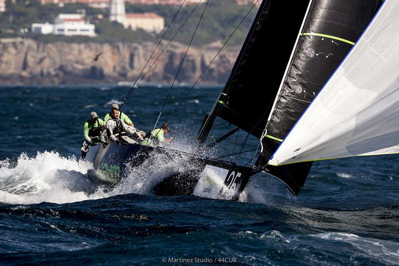 Team Aqua provided a masterclass of sailing in the big conditions - 44Cup Cascais - photo © Pedro Martinez / Martinez Studio