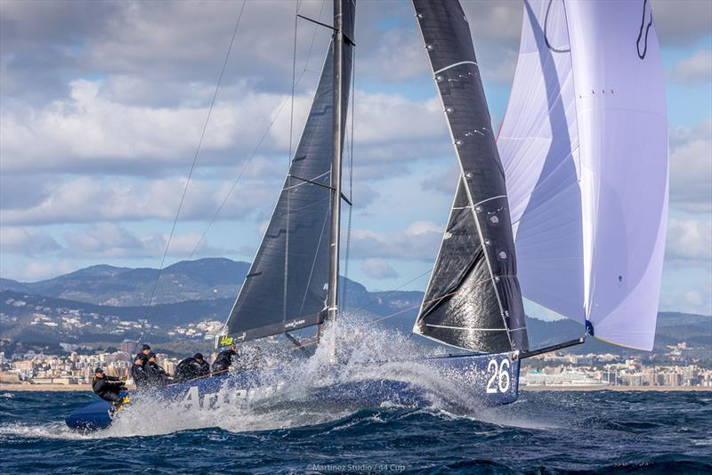 Artemis Racing enjoyed their third podium finish of the season - 2019 44Cup Palma - photo © Martinez Studio / 44 Cup