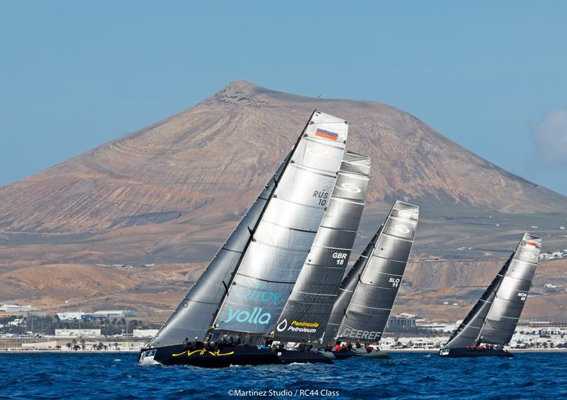RC44 Calero Marinas Cup 2018 - photo © Nico Martinez / MartinezStudio
