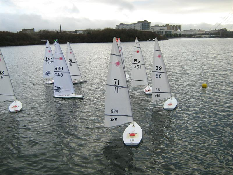 RC Laser and Df65 Southport Winter Series at West Lancs - Day 1