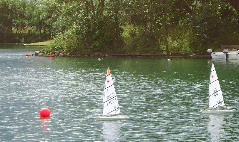RC Laser National and Northern District TT at Fairhaven Lake photo copyright Malcolm Frary taken at  and featuring the RC Laser class