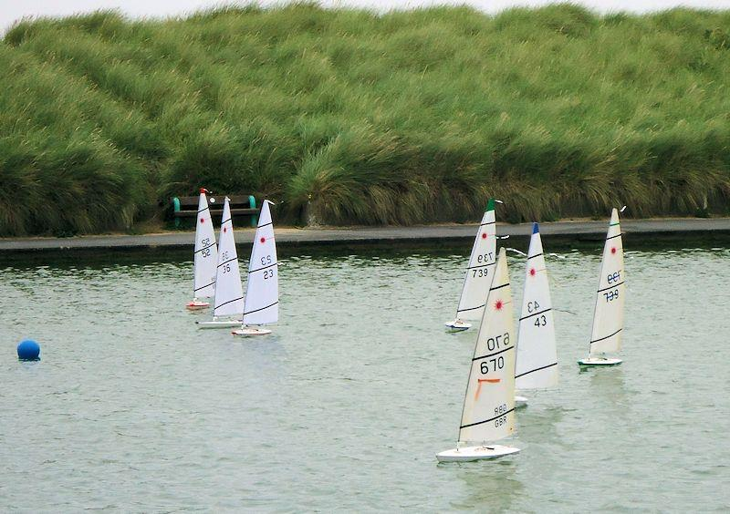 RC Laser racing in Bart's Bash at Fleetwood - photo © Tony Wilson