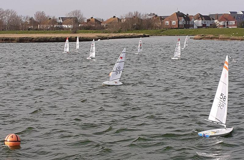 RC Laser Winter Series event 8 at Medway - photo © Jamie Blair
