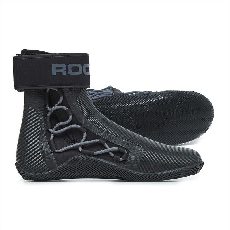 Rooster Pro Laced Ankle Strap Boot - photo © Rooster