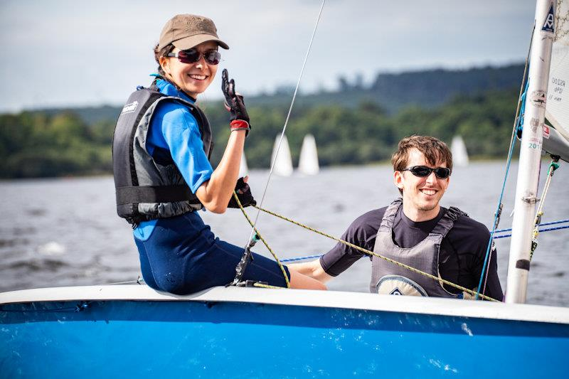 The ONE Bassenthwaite Lake Sailing Week first weekend photo copyright Peter Mackin taken at Bassenthwaite Sailing Club and featuring the RS200 class