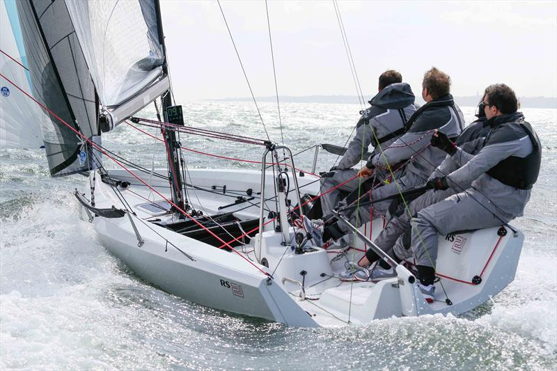 The RS21 in action - photo © RS Sailing