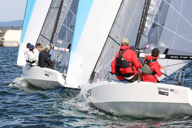 Reaching - San Diego NOOD Regatta photo copyright RS Sailing taken at San Diego Yacht Club and featuring the RS21 class