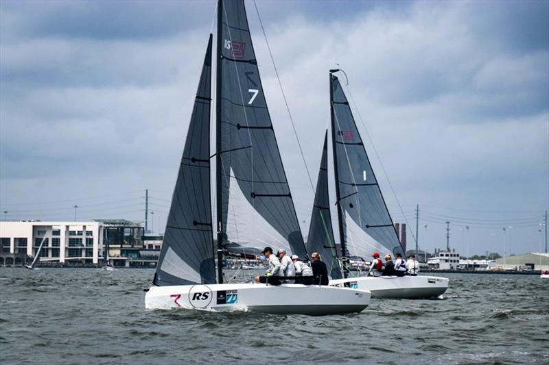 RS21 upwind - Charleston Race Week 2019 - photo © RS Sailing