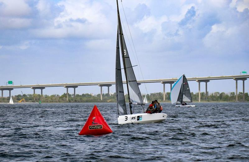 RS21 windward mark - Charleston Race Week 2019 - photo © RS Sailing