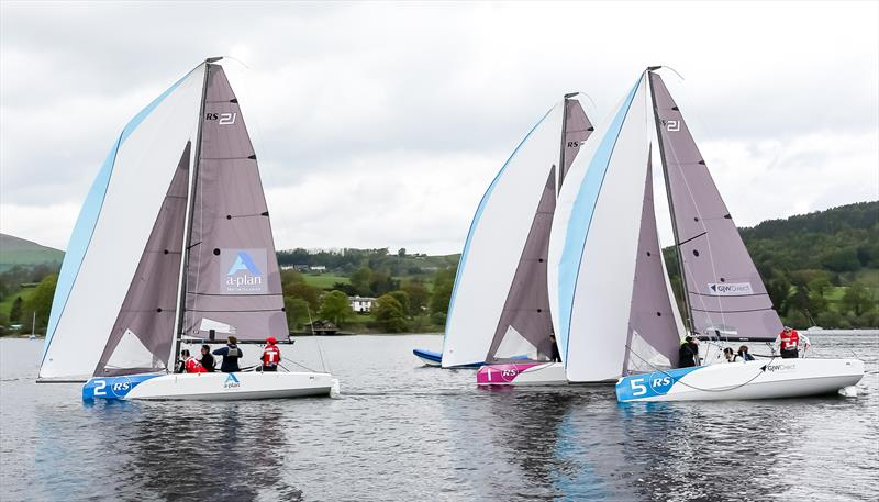 British Keelboat League Qualifier at Ullswater - photo © RS Sailing