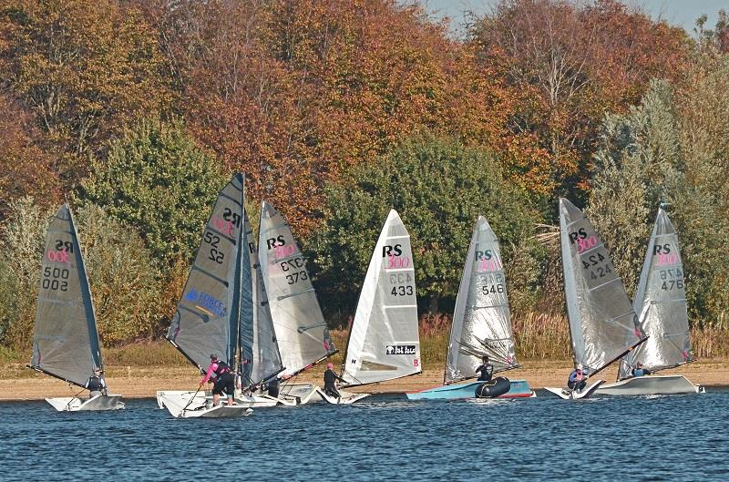 RS300 Inlands at Alton Water photo copyright Dave Hearsum taken at Alton Water Sports Centre and featuring the RS300 class