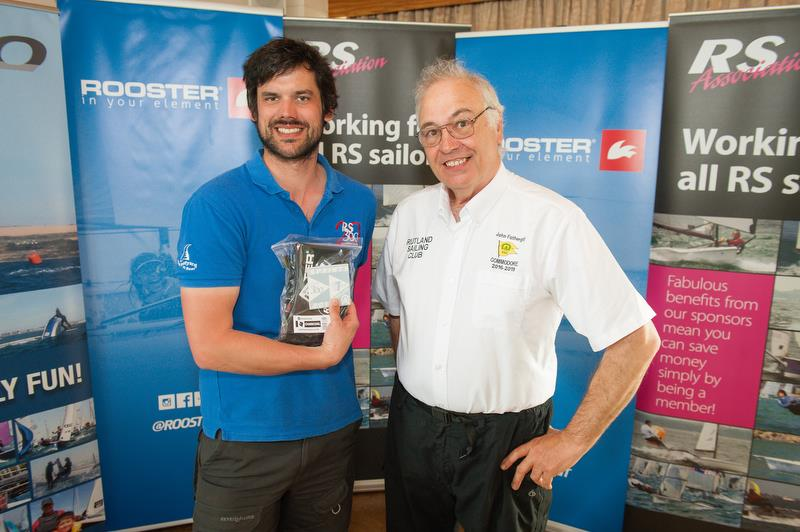 Winner - 2018 RS Sprint Championship photo copyright Peter Fothergill taken at Rutland Sailing Club and featuring the RS300 class