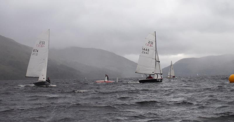 RS400 Final Fling at Loch Earn - photo © Karen Robertson