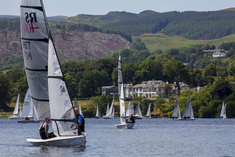 Boats racing on Ullswater at the Birkett in July - photo © Tim Olin / www.olinphoto.co.uk