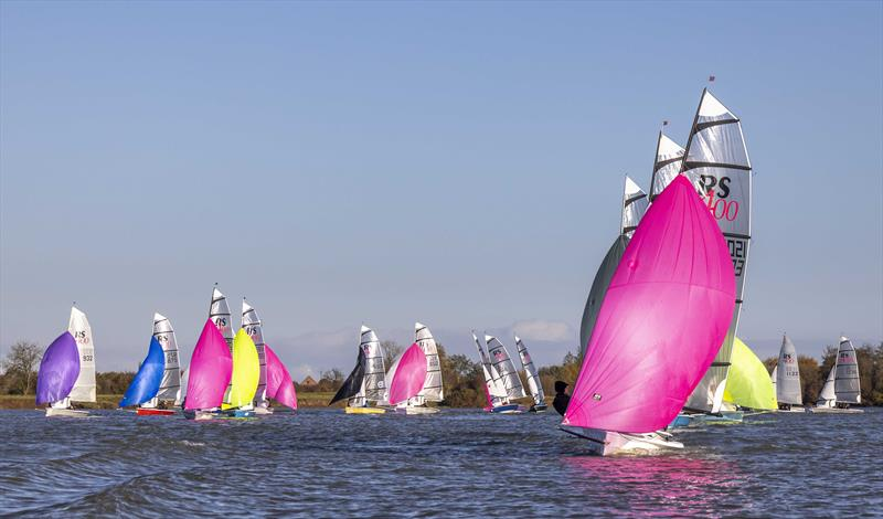 Downwind during the Notts County RS400 Open - photo © David Eberlin