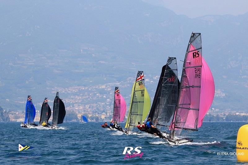 RS800 European Championship at Circolo Vela Torbole - Day 4