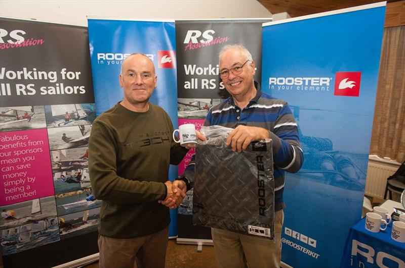 Chris Jones wins the RS Aero 7 rigs in the RS Aero UK Southern Circuit - photo © Peter Fothergill
