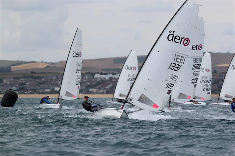 With over 200 boats competing at the World Championships, the Aero now has enough of an international footprint to suggest a viable alternative to the Laser - photo © Steve Greenwood / RS Sailing