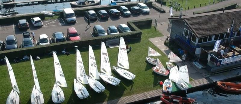 Vinkeveen 1 Regattas photo copyright RS Aero NL taken at  and featuring the RS Aero class