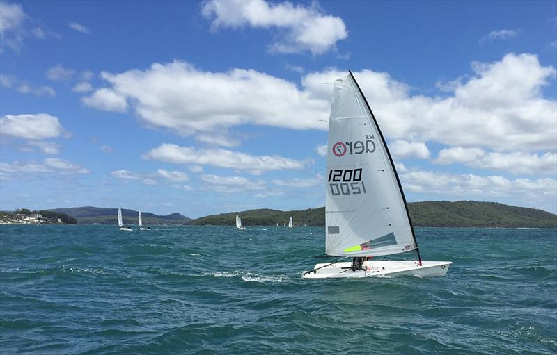 Rhett Gowans - RS Aero National Championship 2018 at Port Stephens - photo © Sailing Raceboats