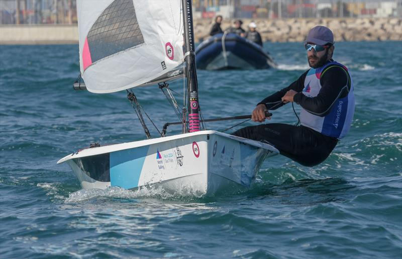 RS-Aero - Equipment selection Sea-trials - 2024 Olympic Sailing Competition  - Men's and Women's One Person Dinghy Events. - photo © Daniel Smith - World Sailing
