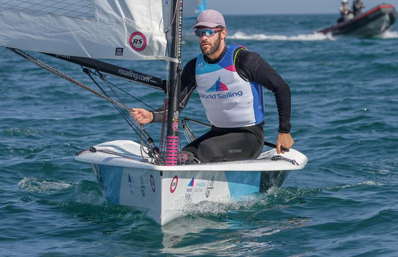 RS Aero - Equipment selection Sea-trials - 2024 Olympic Sailing Competition  - Men's and Women's One Person Dinghy Events. - photo © Daniel Smith - World Sailing