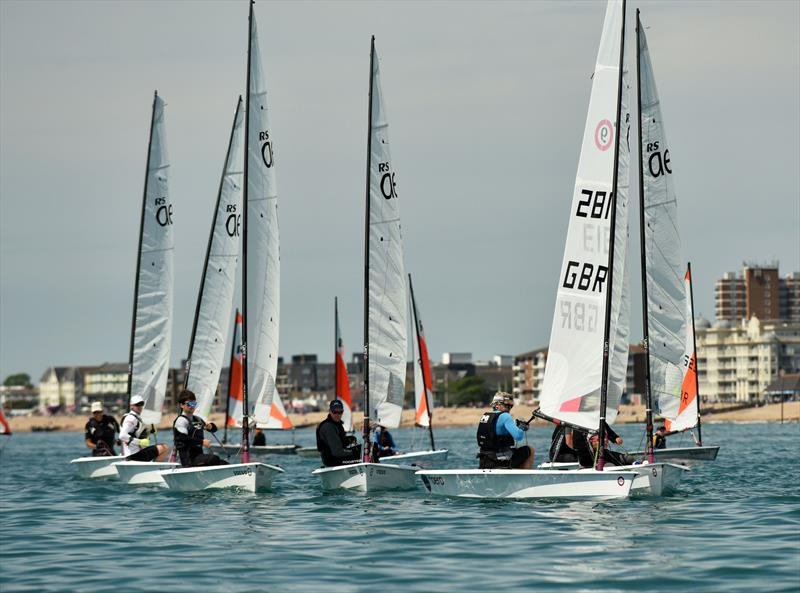 RS Aero and RS Tera open meeting at Felpham - photo © Chris Hatton