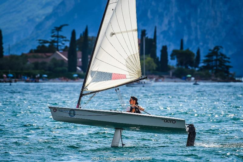 Crowds 'learn to fly' at Foiling Week