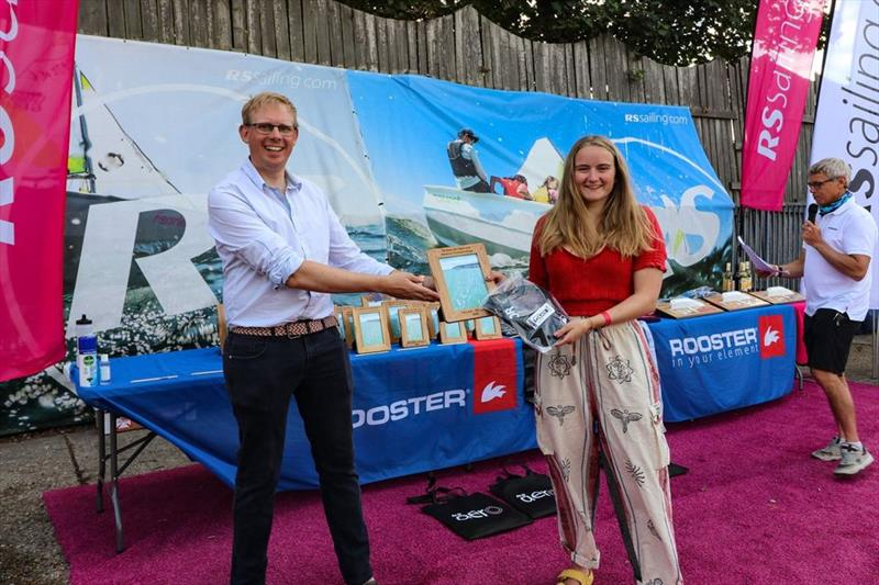1st Lady RS Aero 5 - Caitie Atkin, Whitstable - RS Aero UK Open and Natiaonal Championship 2020 - photo © RS Sailing