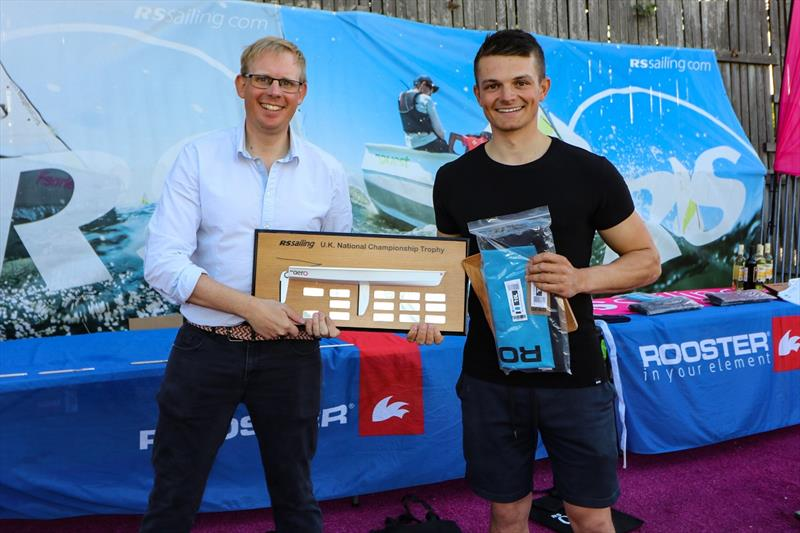 1st RS Aero 7 - Sam Whaley, Swanage - RS Aero UK Open and Natiaonal Championship 2020 - photo © RS Sailing