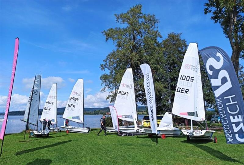 Czech RS Aero Cup at Lake Lipno photo copyright Jorn Domres taken at  and featuring the RS Aero class