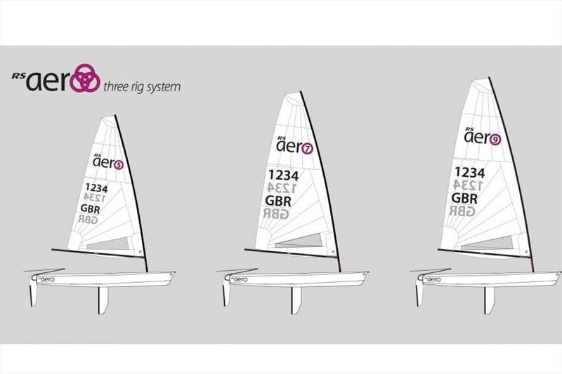The RS Aero offers three different rig sizes to suit sailors across a wide range of ages and weights. - photo © NZ Sailcraft
