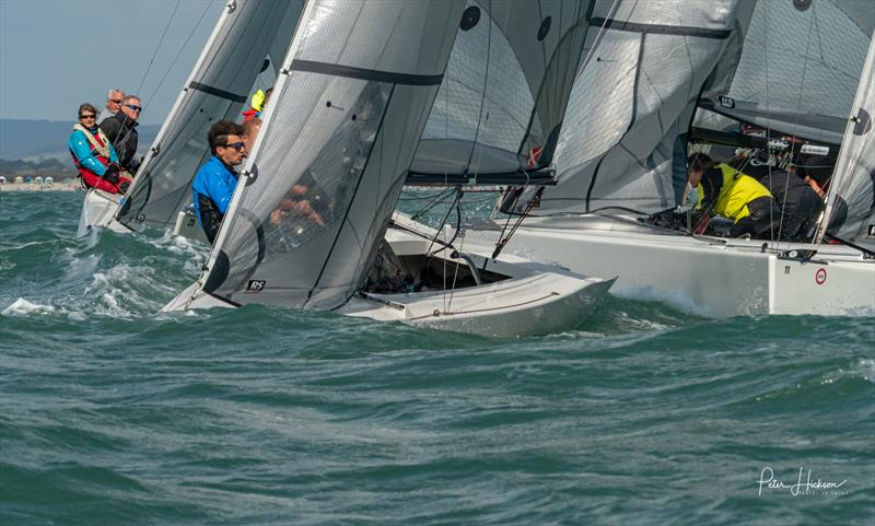 RS Elite fleet at Chichester Harbour Race Week