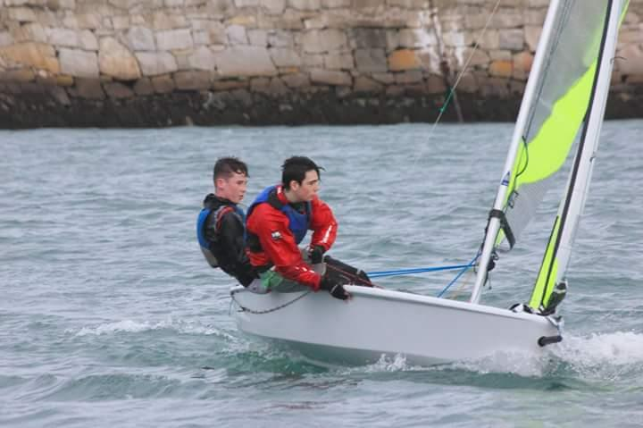 RS Feva XL sailors honing their skills- photo © Bob Hobby