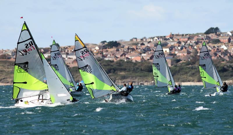 2020 South & Southwest British Youth Sailing Regional Junior Championships photo copyright Mark Jardine / YachtsandYachting.com taken at Weymouth & Portland Sailing Academy and featuring the RS Feva class