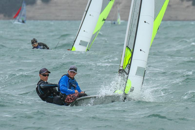 Day 1 - 2019 RS Feva NZ National Championships - Torbay Sailing Club - 30 March 2019 - photo © Richard Gladwell
