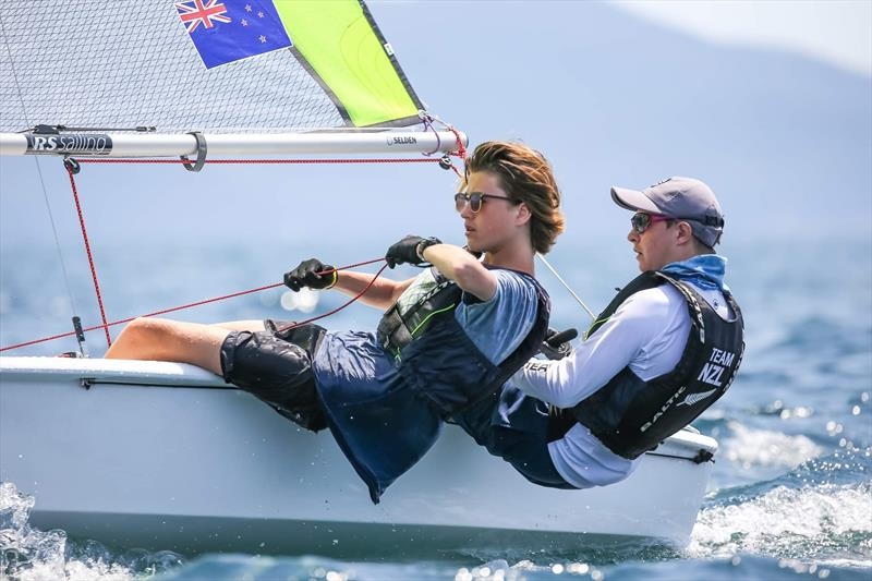 RS Feva Worlds 2019 - Follonica, Italy July 2019 - photo © NZ RS Feva Associatoon