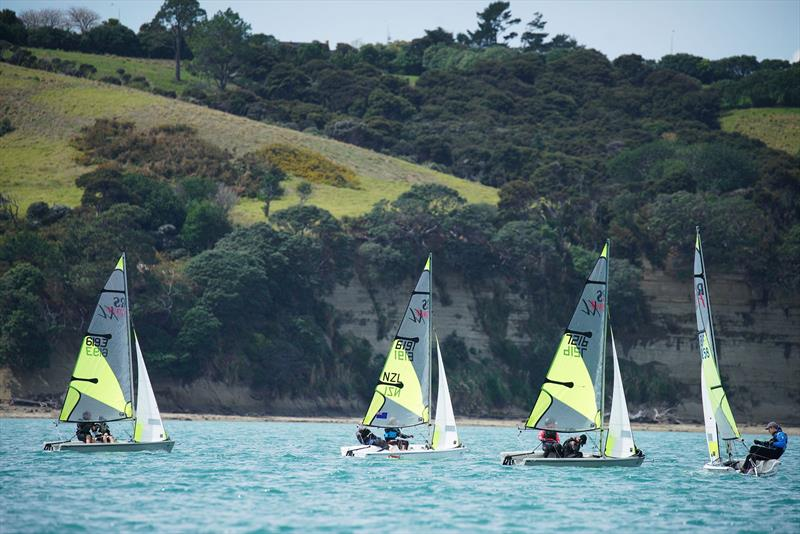 RS Feva North Island Championships - Manly Sailing Club, October 2019 - photo © Manly Sailing Club