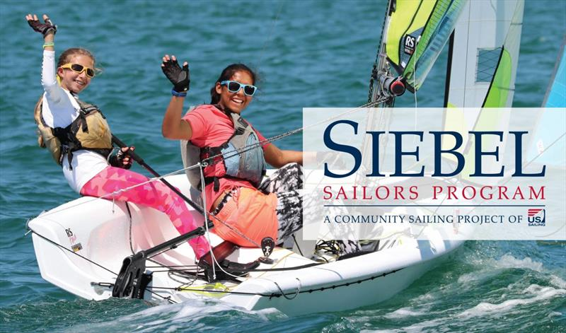 Siebel Sailors Program photo copyright US Sailing taken at  and featuring the RS Feva class